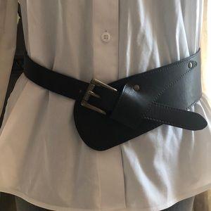 Accessories - Brown Vegan Leather Belt-NWOT
